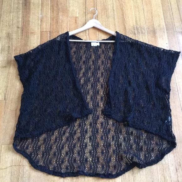 La Hearts Sweaters Knitted Kimono Poshmark